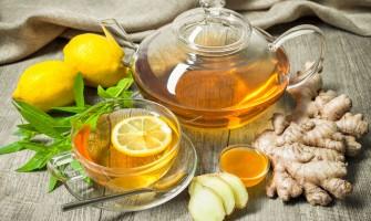 Ceai cu ghimbir și lămâie: rețete, beneficii și daune