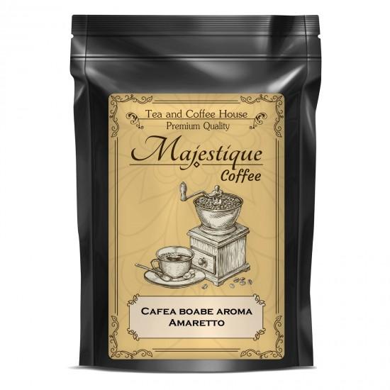 Cafea boabe cu aroma Amaretto