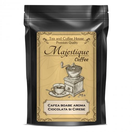 Cafea boabe aroma de Cirese si Ciocolata