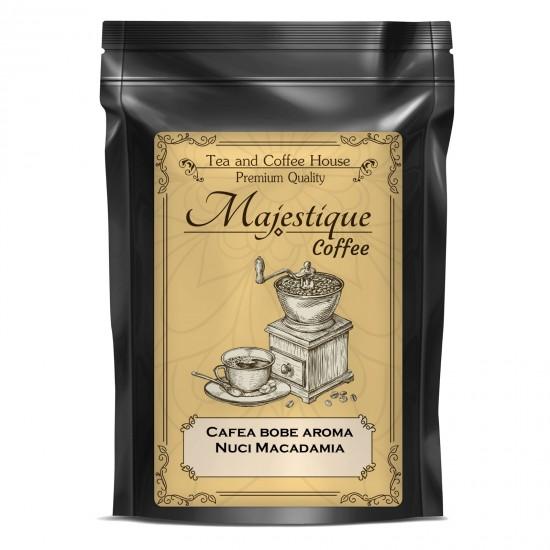 Cafea boabe cu aroma de nuci Macadamia