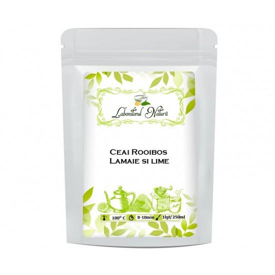 Ceai Rooibos Lamaie si Lime
